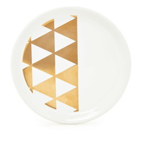 Metallic Geo Graphic Jewelry Plate