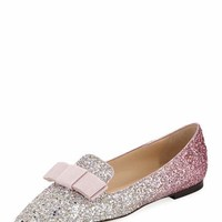 Jimmy Choo Gala Course Glitter Loafer