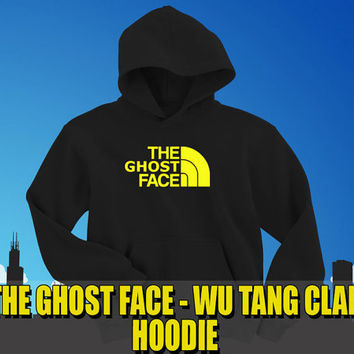 The Ghost Face Hoodie  ghost face killa wu by LOGOPrintCompany