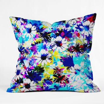 Aimee St Hill Floral 5 Throw Pillow
