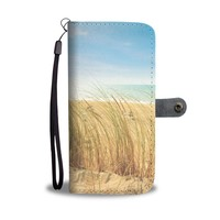 Sandy Beach Phone Wallet Case