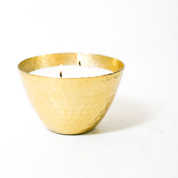 Maldives Hammered Bowl Scented Candle