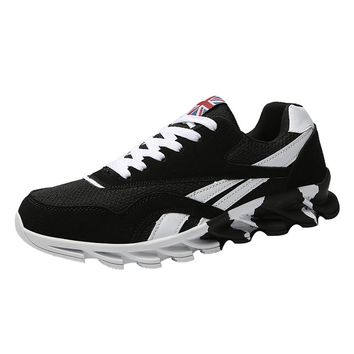 Men Running Sneakers Lightweight Gym Sneakers Casual Mesh Shoes
