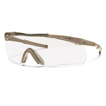 Smith - Aegis Arc Compact Tan 499 Sunglasses / Clear Lenses
