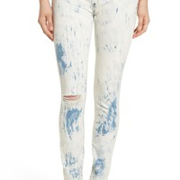 'Instant Karma' Stretch Denim Skinny Jeans