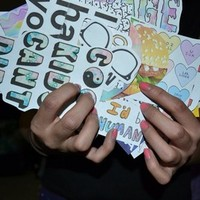 Stickers from Teenage Apparel