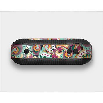 The Wild Colorful Shape Collage Skin Set for the Beats Pill Plus
