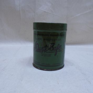 Vintage Dust Safe Eye Protector American Optical Company Tin