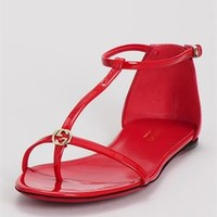 Gucci Vernice Crystal Sandal - Gucci Women's Shoes - Modnique.com