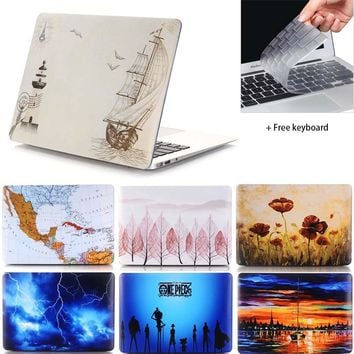 Carry360 Hard Print Laptop Sleeve for Apple Macbook Air Pro Retina 11 12 13.3 15 inch for Mac book air 13 Case Cover
