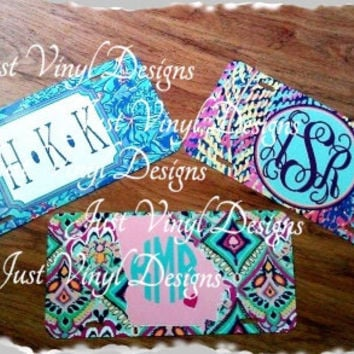 Personalized License Tags, Preppy License, New Patterns