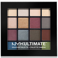 NYX Professional Makeup Ultimate Eye Shadow Palette, Smokey & Highlight | macys.com