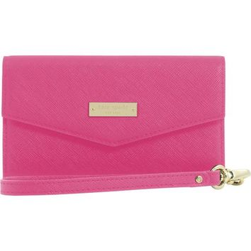 kate spade new york - Saffiano Wristlet for Apple® iPhone® 6 Plus - Pink