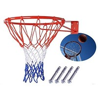 Basketball Hoop Net Ring Wall Mounted Outdoor Hanging Basket 18'' 45cm