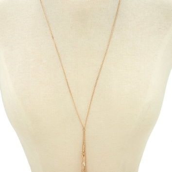 Feather Lariat Necklace | Forever 21 - 1000202349