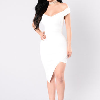 Do Or Die Dress - Ivory