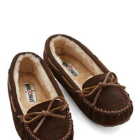Minnetonka Rustic Classically Cozy Slipper