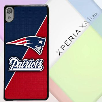 New England Patriots W5228 Sony Xperia XA1 Ultra Case