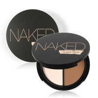 Naked Professional Face Makeup Two-Color Bronzer & Highlighter Powder  Cosmetic Brand Pallette