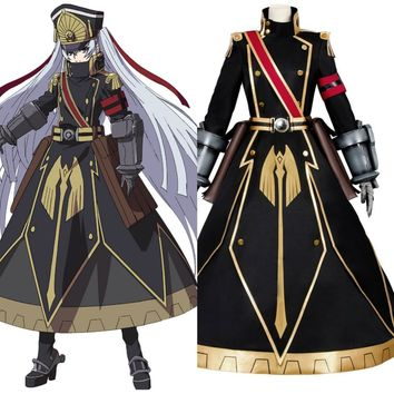 NEW Re:Creators cosplay Gunpuku no Himegimi  anime Costume for adlut full set uniform party Halloween Carnival