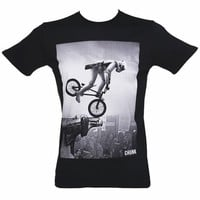 Men's Black BMX Stormtrooper Star Wars T-Shirt From Chunk : TruffleShuffle.com