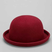 Rosin Red Bowler Hat- Red One