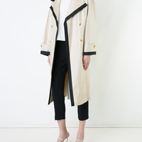 Chanel Vintage Vintage Long Sleeve Trench Coat - Farfetch