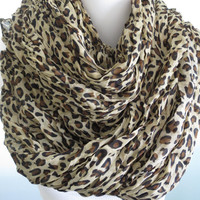 Leopard Scarf- Luxury Woman Scarf-Accessories-Fancy Scarf-Light Weight Scarf