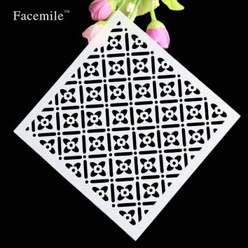 Facemile Stars Layering Stencils For Walls Painting Scrapbooking Stamping Stamps Album Decorative Embossing Paper Cards Crafts