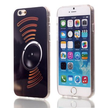 Sound WaveTPU Case For Apple iPhone 6 6S