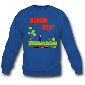 demon hunt SWEATSHIRT CREWNECKS