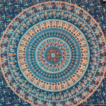 Mandala Tapestries, Tapestry Wall Hanging, Wall Tapestries, Indian Hippie Tapestries Wall Hanging, Bohemian Tapestry, Dorm Tapestry Wall Art