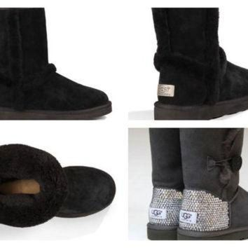 DCCK8X2 Custom UGG Boots made with Swarovski Carter Uggs Free: Shipping, Repair Kit, Cleaning