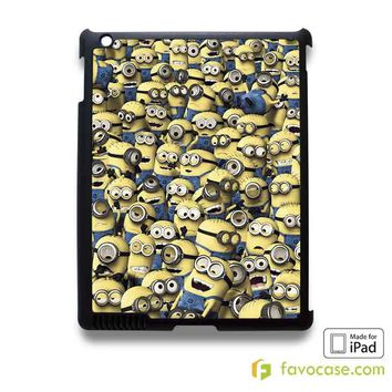 MINIONS STICKER BOMB Despichable Me iPad 2 3 4 5 Air Mini Case Cover