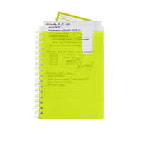 Lime Green Medium Pocket Spiral Notebook