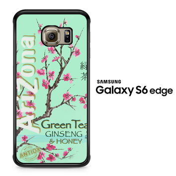 Arizona Green Tea SoftDrink Samsung Galaxy S6 Edge Case