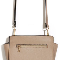 Zip-a-Dee-Doo Taupe Purse