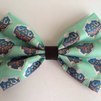 The Legend of Zelda Hylian Shield Hair Bow or Bow tie