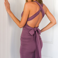 Devotions Dress (lilac)