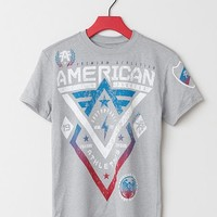 Boys - American Fighter Alaska Scribble T-Shirt