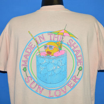 80s Made In The Shade Sun Lover t-shirt Extra Large