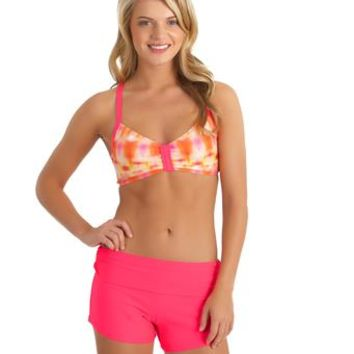 Sports Bra Swim Top l Womens Swim Shorts l NEXT Swimwear