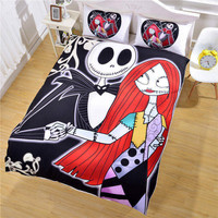THE NIGHTMARE BEFORE CHRISTMAS BEDDING SET 002