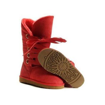 ICIKIN2 Ugg Boots Sale Black Friday Roxy Tall 5818 Red For Women 111 67