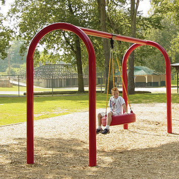 Planet Playgrounds Free Standing Metal Tire Swing Bay