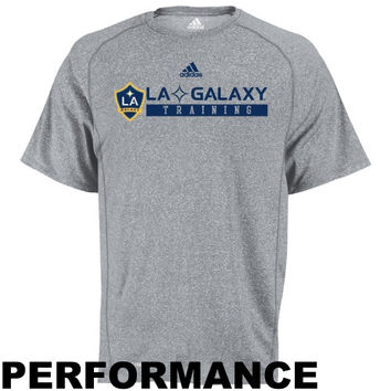 adidas LA Galaxy Training Performance T-Shirt - Ash