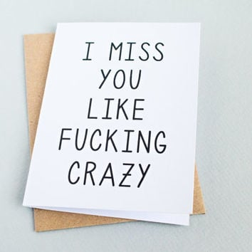 Shop love greeting cards for husband on wanelo life f ing sucks without you long distance relationship love boy cards m4hsunfo