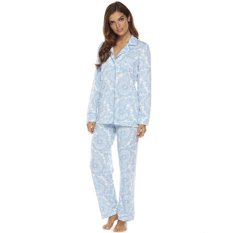 Chaps Pajamas Knit Pajama Set Women S From Kohl S Pjs