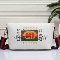 Gucci New Fashion Women Leather Satchel Shoulder Bag Handbag Crossbody