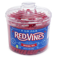 Red Vines Licorice Twists Candy: 5LB Tub